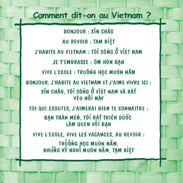 Lexique - Voyages et Rencontres au Vietnam