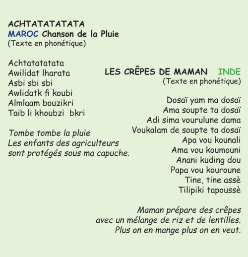 Achtatatatata - Contes et Chansons du Monde Vol.1