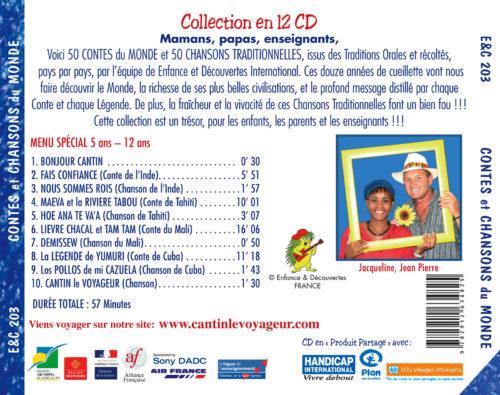 Contes et Chansons du Monde Vol.3
