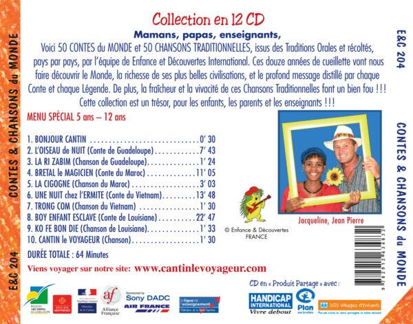 Contes et Chansons du Monde Vol.4