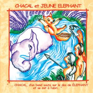 Conte Chacal et Jeune Eléphant (Inde)
