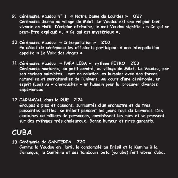 Musiques Racines Du Brésil à la Louisiane Vol.3