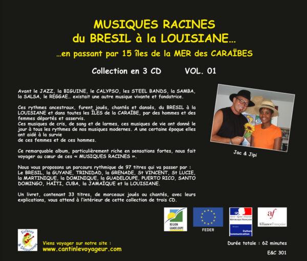 Musiques Racines Du Brésil à la Louisiane Vol.1