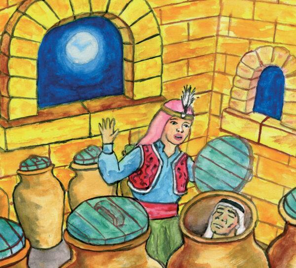 Ali Baba et les 40 Voleurs (Conte d'Egypte)