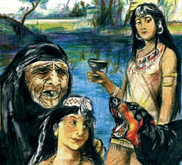 Un Chien Sacré (Conte d'Egypte)