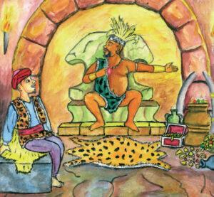 Le Roi et le Paysan (Conte d'Egypte)