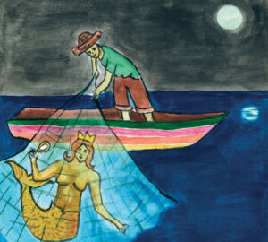 Yémanja ou la déesse de l'eau (Légende du Brésil)